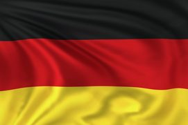 The flag of Germany represents the study abroad program offered in Berlin and Bonn/Cologne for college students